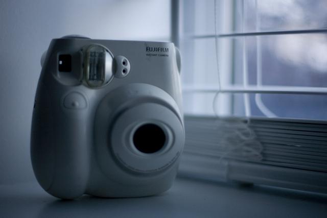 One Year / Twelve Cameras – Fujifilm Cheki Mini 7S (October)