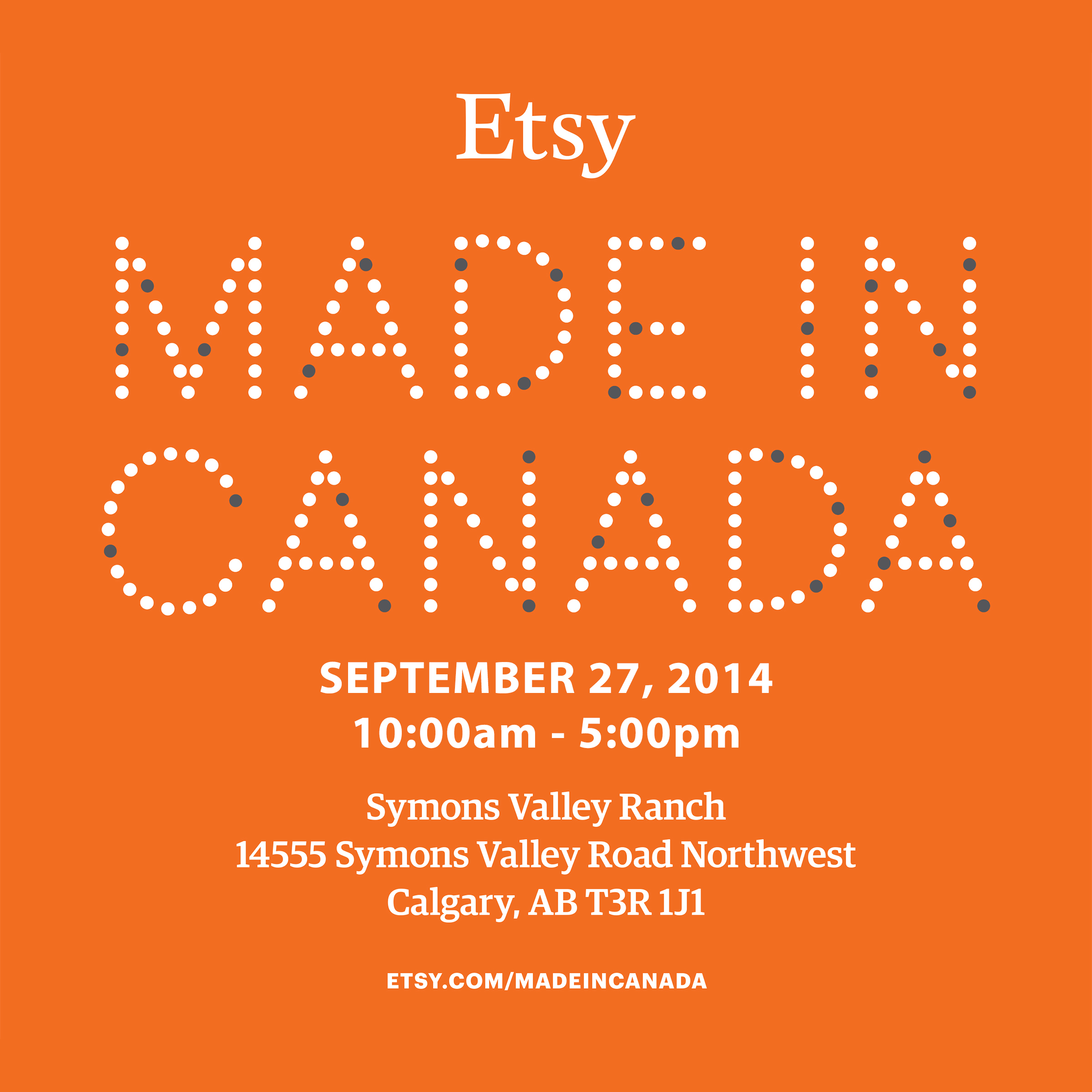 Etsy: Made in Canada – Calgary Edition