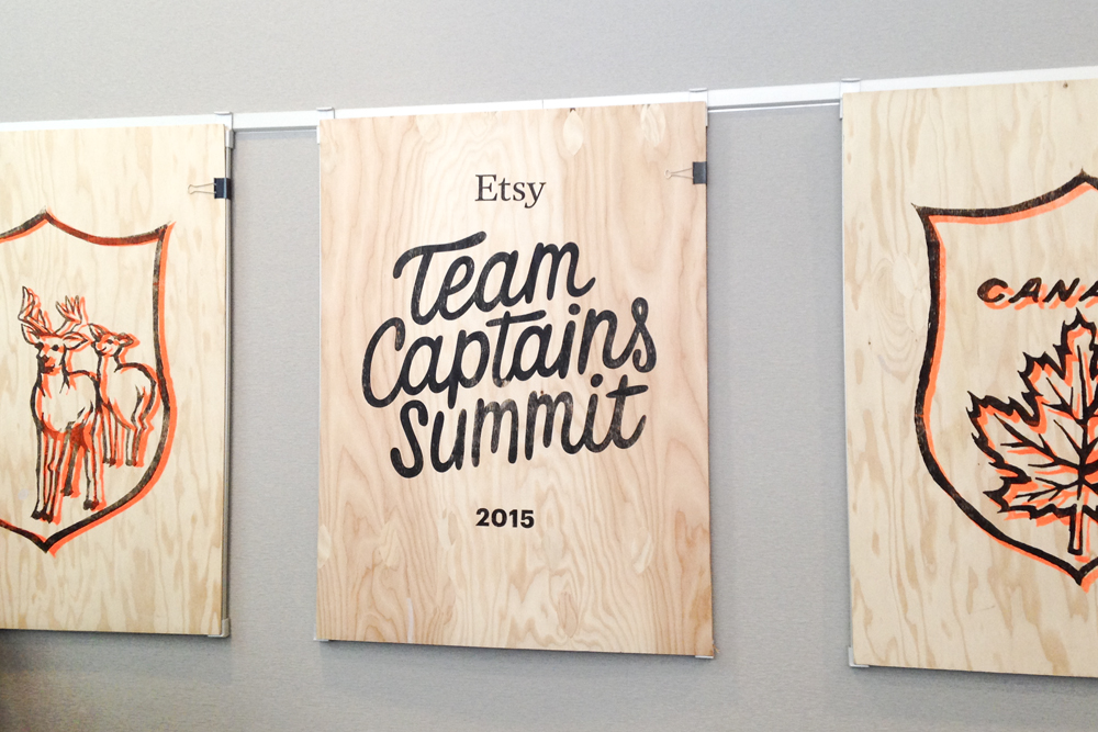 Etsy Captains' Summit 2015